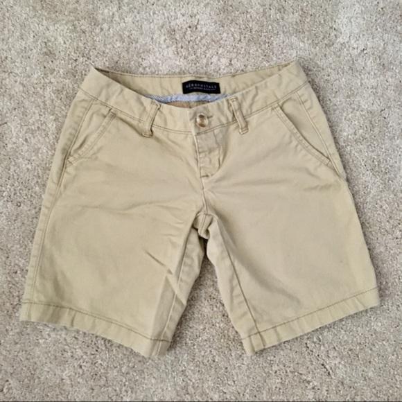 Clothing, Shoes & Accessories Aeropostale Size Bermuda Shorts Khaki